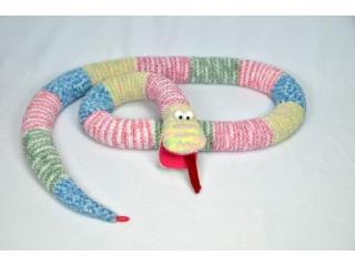 Змеи в стиле печворк